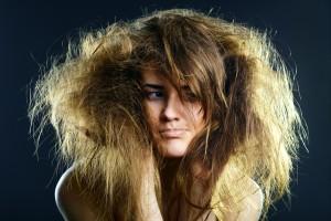 Ломкие секущиеся волосы